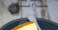 The Best Homemade Cheesecake - get the secret for the lightest and fluffiest… Fluffy Cheesecake, Best Cheesecake, Chocolate Cheesecake, Cheesecake Recipes, Sweets Recipes, Easy Desserts, Baking Recipes, Cookie Recipes, Delicious Desserts