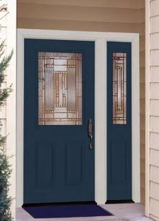 Similar To My Style Of Door Leaving Trim Out And Just Painting The Adjacent Panel