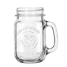 Set of 12 mason jars with handles $20 #masonjar