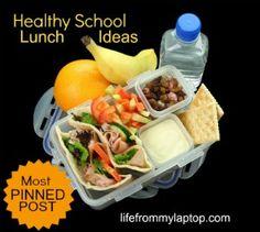 Healthy Lunch Box Healthy School Lunch Ideas Needed Kids Lunch For School, Healthy School Lunches, Healthy Snacks, Healthy Eating, Healthy Recipes, Lunch Kids, Diy School, School Ideas, Lunch Box Bento