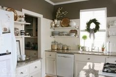 Texas Leather - Repainted updated kitchen with this color...Ahhhh-mazing!! Love it :)