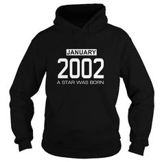 01 2002 January Tee Shirt Hoodie Shirt VNeck Shirt Sweat Shirt Youth Tee for womens and Men