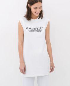"""""""MAGNIFIQUE"""" FLEECE DRESS"""