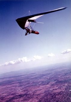 Hang gliding. I would love to hang glide because it looks super fun and takes a lot of skill.