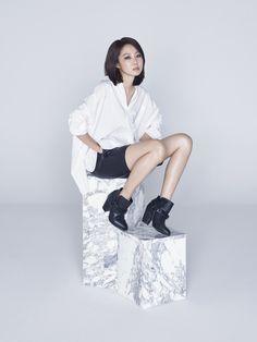 Gong Hyo Jin - Suecomma Bonnie F/W 2015
