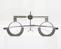 1930s trial frames in stainless steel from the General Eyewear's historical collection