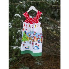 Sew Scrumptious Fabrics - Michael Miller - Holly Jolly Gnomes (Red)
