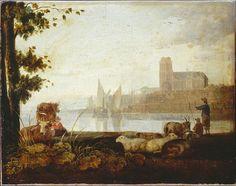 """""""View on the Maas"""" - Aelbert Cuyp"""