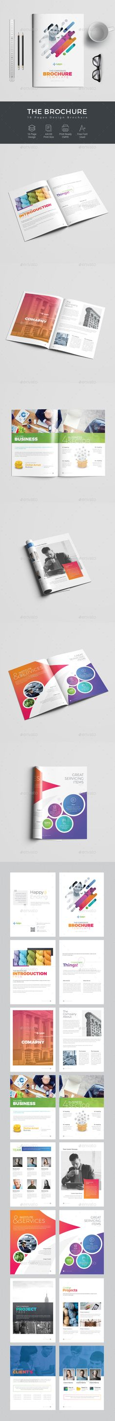 Brochure — Photoshop PSD #creative #modern design • Download ➝ https://graphicriver.net/item/brochure/19866474?ref=pxcr