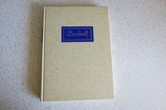 Beowulf 1939 Heritage Press HC Edition with by TheDustyBookNook
