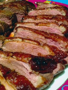 The Incidental Nomads: Perfectly Seared French-style Duck Breast. Magret de Canard.