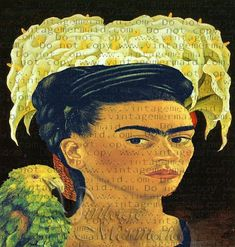 Diego RIvera Painting Fabric Frida Kahlo Mexican Quilts Block FKFB0129.  Diego RIvera Painting Fabric Frida Kahlo Mexican Quilts Block FKFB0129. Frida Kahlo self portrait with Diego Rivera flowers as a background. Such perfect quilt block to start your mexican your crafty projects. Frida Kahlo Fabric, Diego Rivera, Crafty Projects, Quilt Blocks, Mona Lisa, Mexican, Quilts, Portrait, Handmade Gifts