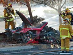 ❥ Paul Walker dead at 40: 'Fast and Furious' star killed in fiery car crash~  very sad
