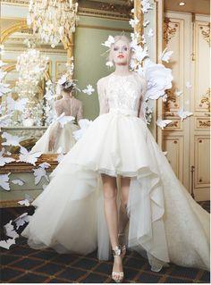 Preciosa Colección de Vestidos de Novia de Yolan Cris - Bodas