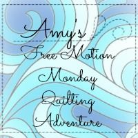 Amy's Free Motion Monday Quilting Adventures blanket machine stitch for quilt bindings