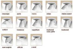 Cols de chemise   http://www.le-blog-shopping.com/wp-content/uploads/2012/01/cols-chemises.jpg