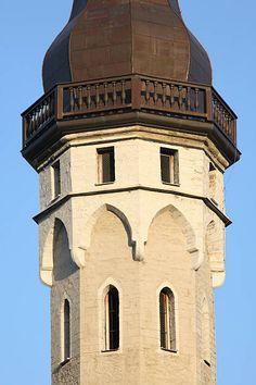 Tower of medieval Tallinn Town Hall