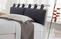 Bed Header Grey