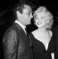 "35 Likes, 3 Comments - Bernard (@bermondsey_66) on Instagram: ""Tony Curtis & Marilyn looking a million dollars $$$$$$ #tonycurtis #marilynmonroe #beautiful…"""