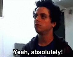 When some one asked me if I luv Billie and green day