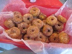 Box of mini cinnamon pumpkin doughnuts.  I'll take three (boxes), please. :)