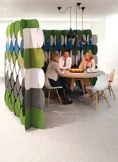 Superb Modular Decorative Screens Made With Cardboard Pieces Offer Light And  Practical Room Dividers Which Can Add Color And Stylish Geometric  Decoration Patterns ... Home Design Ideas