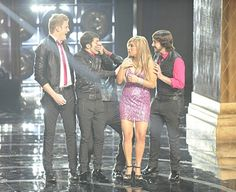 Their reactions were priceless when they won The Singoff.... Then there were a whole lot of tears....