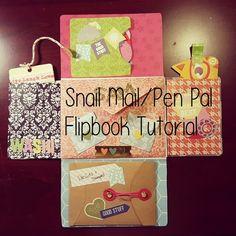 [Snail Mail]{Pen Pal} Flipbook Tutorial