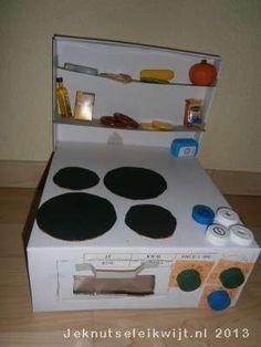 keuken voor de keukenminis