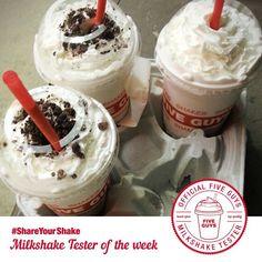 Five Guys Burgers and Fries is Testing Customizable Milkshakes #caramel trendhunter.com