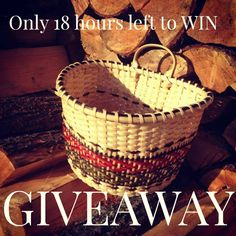 HURRY! ONLY 18 hours LEFT to WIN a FREE Grenetta's Wall Pouch Basket Kit ENTER…
