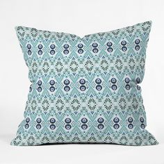 Buy Outdoor Throw Pillow with Ikat Java Blue Mini designed by Amy Sia. One of many amazing home décor accessories items available at Deny Designs. Ikat Print, Outdoor Throw Pillows, Home Decor Accessories, Java, Home Goods, House Design, Mini, Prints, Pattern