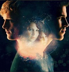 Peeta, Katniss and Gale.