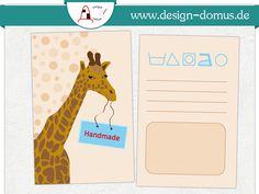Etikikett mit Pflegehinweisen. Erhältlich in unserem Shop: http://shop.design-domus.de/Geschaeftsausstattung/Textilkennzeichnungen/Textilkennzeichnung-mit-Motiv-Giraffe::18.html