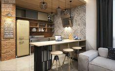 Μικρή κουζίνα; Κανένα πρόβλημα!  #design #diakosmisi #minimal #tips #xrwma #ανακαίνιση #βαψιμοτοιχου #διακόσμηση #έμπνευση #ιδέες #ιδεεςδιακοσμησης #κουζινα #μοντέρνο #σπιτι #χρωμα