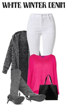"""""""white"""" by kim-coffey-harlow ❤ liked on Polyvore featuring Splendid and Azalea"""