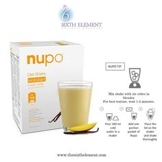 NUPO #VLCD shakes are meal replacement shakes which not only help lose weight but also give all the minerals, fibers, vitamins and proteins that you body needs.  One serving of #Nupo contains ONLY 118 calories, that can be consumed as a meal. Whereas, if we eat a normal meal, it's a minimum of 300-350 calories.  You can replace just your meals or replace your food altogether by having NUPO 6 times a day and see tremendous results. Used by people worldwide, this product is highly celebrated…