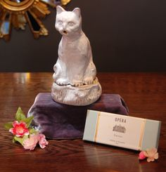 Theme of the week (13-19.6.16) Weddings: Astier de Villatte ceramic smoking cat and incense of your choice. £222.