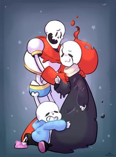 sans and papyrus   Daddy Gaster