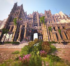 Minecraft Castle Designs, Minecraft Temple, Minecraft Real Life, Minecraft Cottage, Minecraft Medieval, Minecraft Room, Minecraft Plans, Cool Minecraft Houses, Minecraft Blueprints