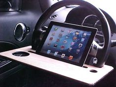 QUICK ..... EASY ..... SIMPLE ..... to use ....... The Fat Boy Car iPad Stand installs in seconds and is designed for BIG PEOPLE, small people,