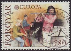 Faroes 1985 SG 113 Used Europa/CEPT Listing in the Denmark & Faroe Islands,Europe,Stamps Category on eBid United Kingdom Faroe Islands, Stamp Collecting, Denmark, United Kingdom, Stamps, Europe, Seals, England