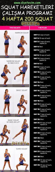 squat challenge squat hareketleri