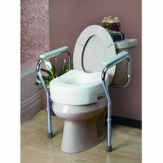 Toilet Safety Frame - Price ( MSRP: $ 55.02Your Price: $29.38Save up to 47% ).