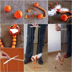 How to DIY Adorable Ostrich Puppet Doll   iCreativeIdeas.com Follow Us on Facebook --> https://www.facebook.com/iCreativeIdeas