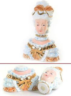 Macabre Marie Antoinette Salt & Pepper Set - i freakin' love this! #kitchen #accesories #products