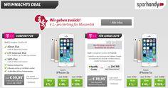 iPhone 5s mit Vertrag ab 1 Euro: Weihnachtsdeals bei Sparhandy - http://apfeleimer.de/2013/12/iphone-5s-mit-vertrag-ab-1-euro-weihnachtsdeals-bei-sparhandy - Mit einem Apple iPhone 5s ab 1 Euro mit Vertrag inkl. LTE bei Telekom wünscht Euch sparhandy per iPhone 5s Weihnachtsdeal fröhliche Weihnachten! Beim Weihnachtsdeal gibt's das iPhone 5s in spacegrau, silber oder gold in 16 GB, 32 GB oder 64 GB im Telekom Tarif Complete Comfort M für 39,95 E...