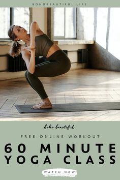 This free relaxing 1 hour Boho Beautiful yoga class is an energy boosting all level stress & anxiety release yoga flow. Its aim is to support raising awareness and funds for Smile Train. Click to start this free online yoga video class to tone your upper body and lower body and improve your strength and flexibility. | Yoga Workout | Yoga Fitness | Yoga Asanas | Yoga for Beginners | At Home Workout | Toning Exercises | Flexibility Exercises | Juliana Spicoluk | Boho Beautiful Flexibility Exercises, Toning Exercises, Toning Workouts, Free Yoga Videos, Free Yoga Classes, Beginner Yoga, Yoga For Beginners, Buddha Artwork, Boho Beautiful