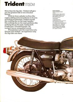 Motorcycle Posters, Motorcycle Art, Triumph Motorcycles, Vintage Motorcycles, Big Ride, Triumph Bonneville, Cool Bikes, Motorbikes, Hot Rods