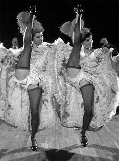 Can-Can dancers 1950s